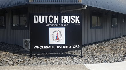 Dutch Rusk Sign